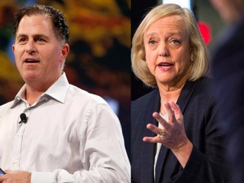Contrasting Michael Dell and Meg Whitman