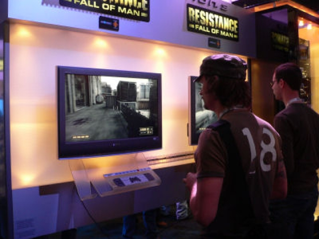 E3 2006 First Impressions: Insomniac's Resistance: Fall of Man for PS3