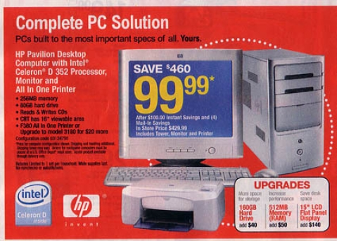 Office Depot's $100 PC