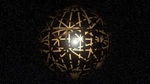 Artists vision of a Dyson Sphere
