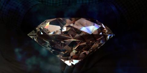 A new technology creates beautiful diamonds from Human Ashes called 'Memorial Diamonds'