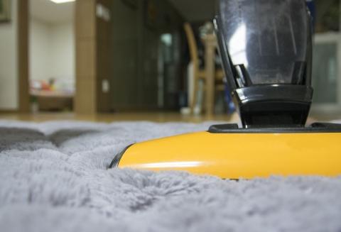 Clean Home with Vacuum Cleaner
