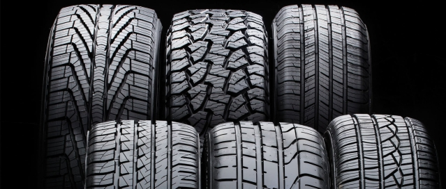 Diverse Types of Car Tires