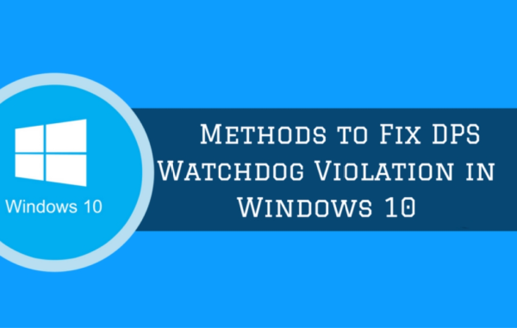 watchdog violation windows 10 error