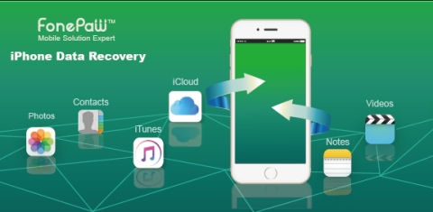 FonePaw -The Finder of the Lost Data, Your First Choice to Recover Data from iPhone