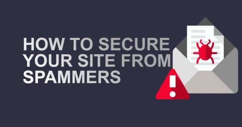 How to Secure Your Site from Spammers