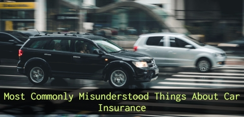 5 Most Commonly Misunderstood Things About Car Insurance