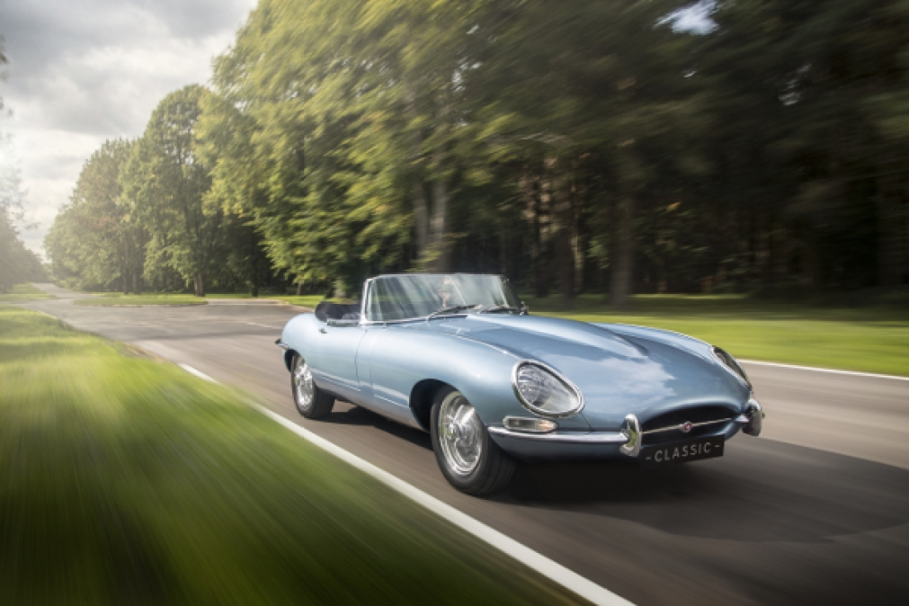 The Electric Jaguar E-Type: The Likely Future Of Drivable Classic Cars