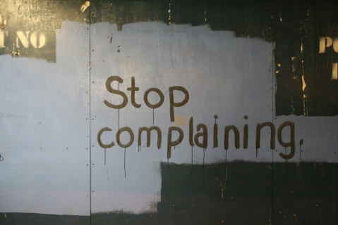 The Price of Complaining