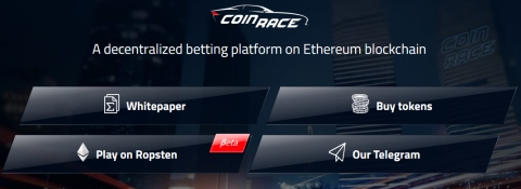 CoinRace: Changing the face of decentralized games for the better