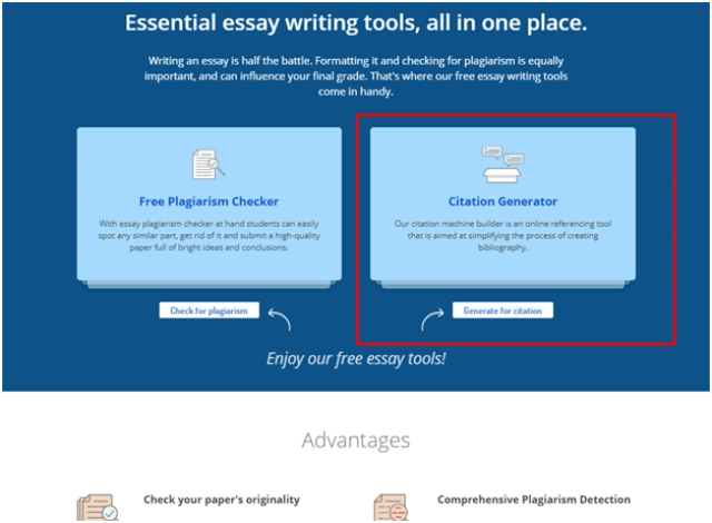 Custom Essay Writing Service: Why to Use the Citation Generator by ThePensters . com?