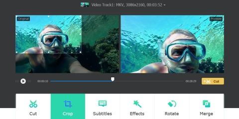 macXvideo - A Free Video Processing Tool to Make Your Videos Social-Easy