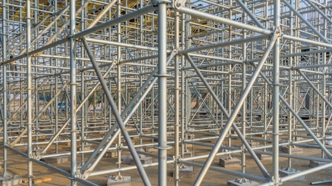 5 Benefits Of Using Ring-Lock Scaffolding