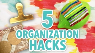 5 Organization Hacks For Your Home Office On A Budget