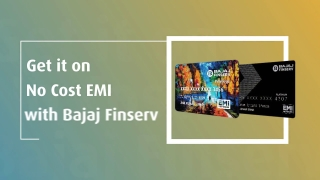 Make The Most Of Independence Day Offers by Shopping from the Bajaj Finserv Emi Network
