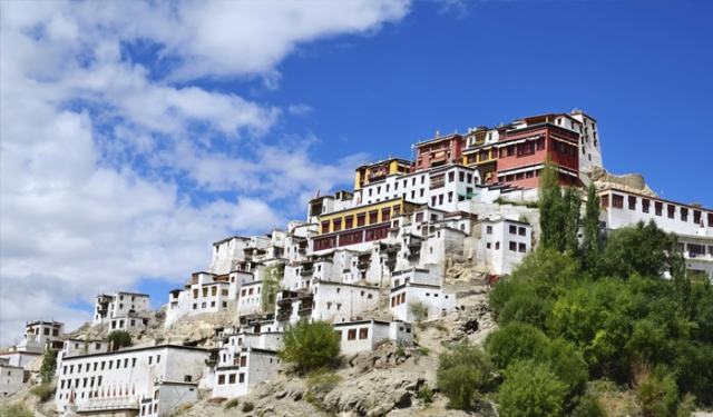 Itinerary through the roads of Leh - Ladakh
