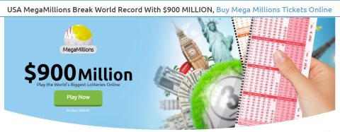 Win the MegaMillions Record Jackpot Of $900 Million From Anywhere In The World With Lottosend