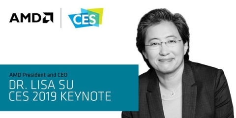 Dr. Lisa Su at CES 2019