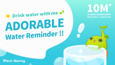 Plant Nanny² Mobile App is Making Drinking (Water) Fun Again