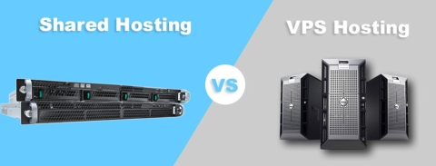 Shared Hosting vs VPS