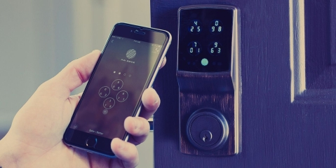 What are the benefits of using a smart lock?