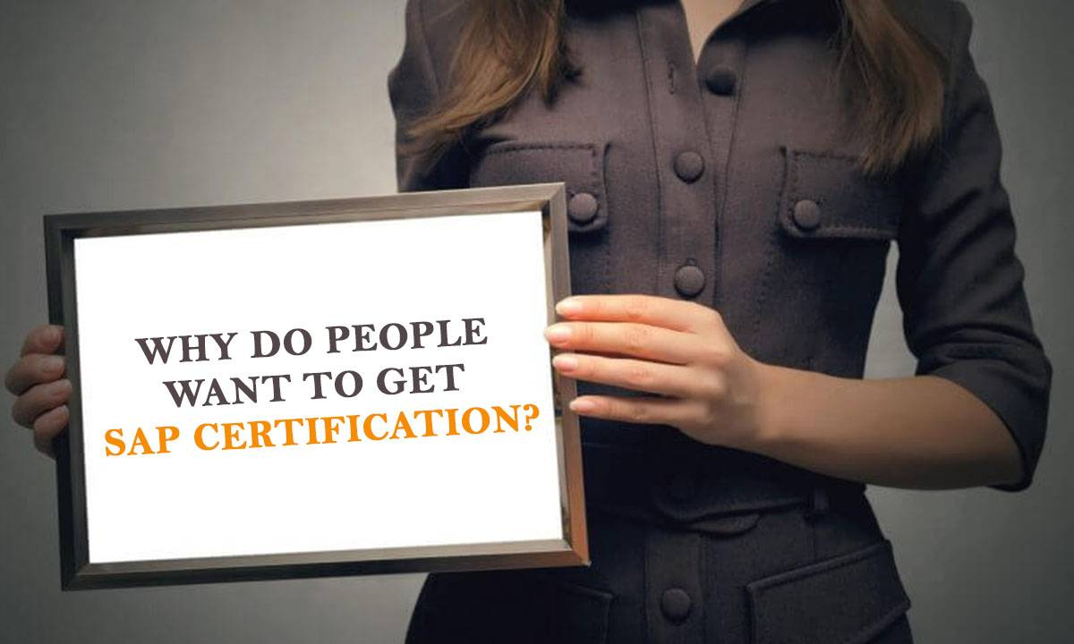 Why Sap Certification Is Good For You In 2019