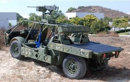 US Army hybrid a dune buggy on steroids - TGDaily