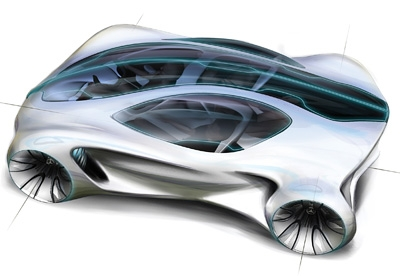 Spawned from DNA, Mercedes-Benz BIOME concept car to grow in