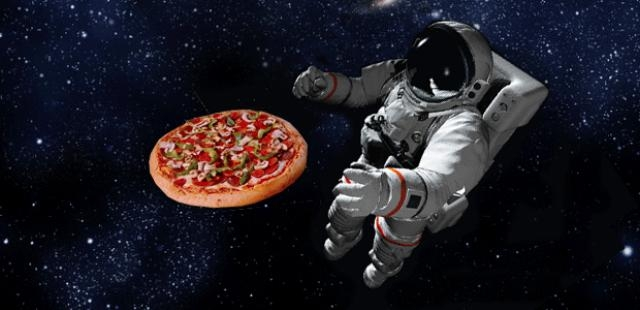 do astronauts eat pizza in space - photo #12