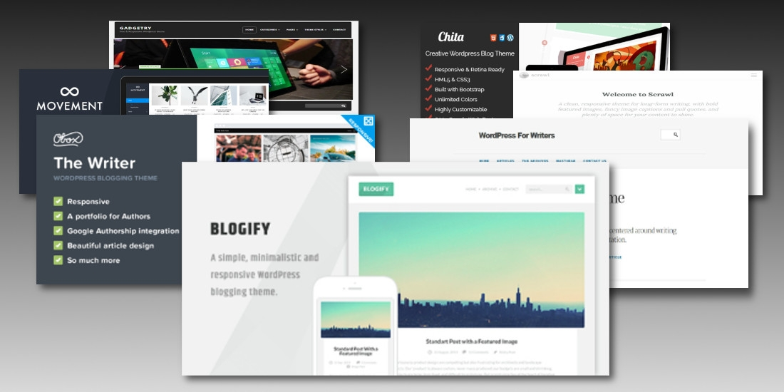 Wordpress themes for writers Top Result 60 Awesome Wordpress Templates for Authors Picture 2017 Xzw1