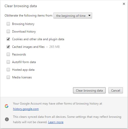 A Few Quick Steps To Fix SSL Certificate Errors In Google
