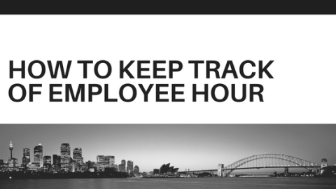 how to keep track of employee hour
