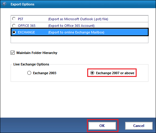 Lotus Notes to Exchange Migration by SysTools Mail Migration