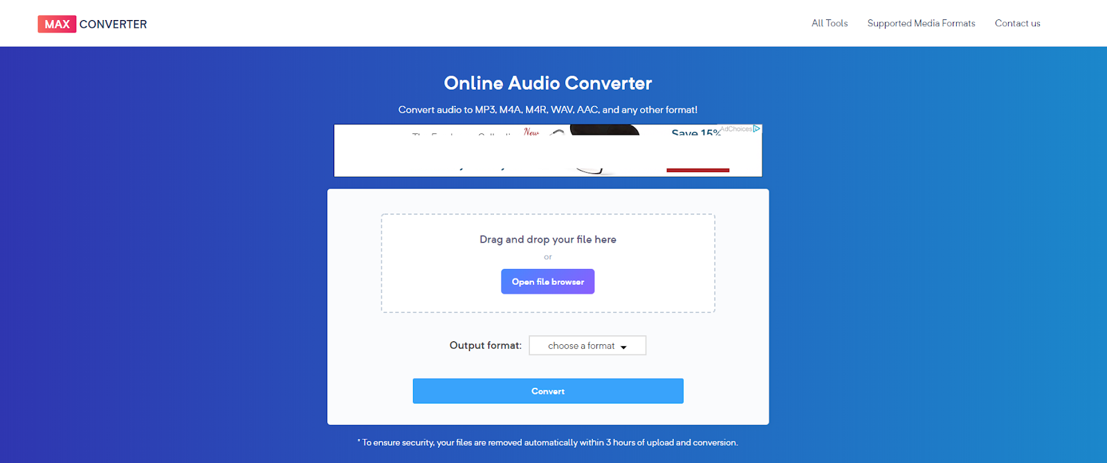 MaxConverter: Online Video and Audio Converter, Review - TGDaily