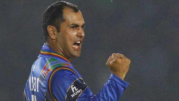 Mohammad Nabi helped Afghanistan beat Ireland by five wickets in the T20 series opener.