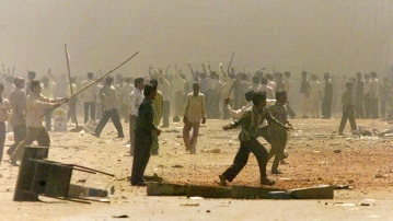 File image  of the 2002 Gujarat riots.