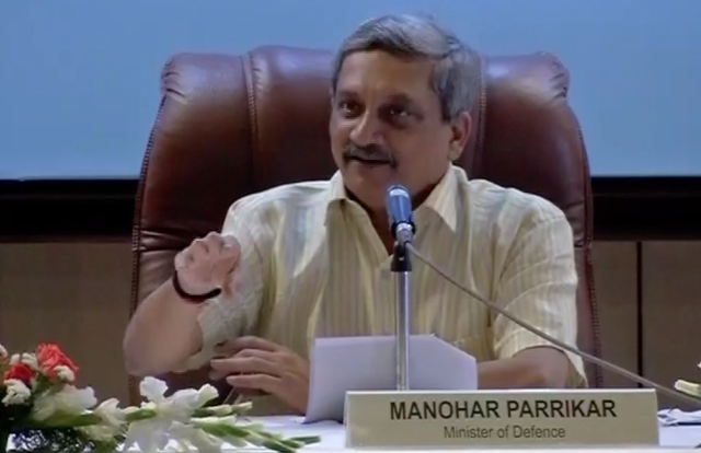 Defence Minister Manohar Parrikar (Photo: ANI)