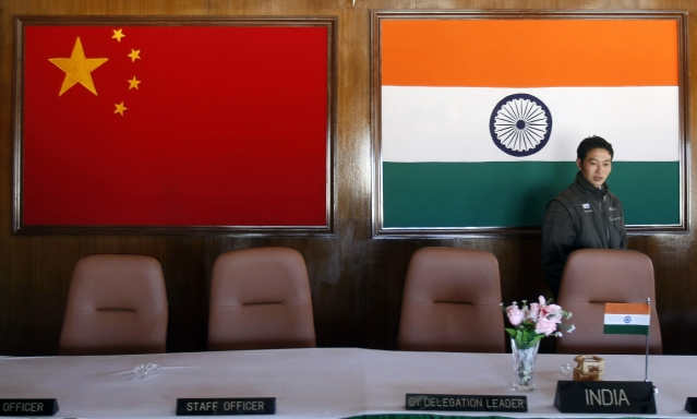 A man walks inside a conference room used for meetings between military commanders of China and India, at the Indian side of the Indo-China border at Bumla, Arunachal Pradesh.  (Photo: Reuters)