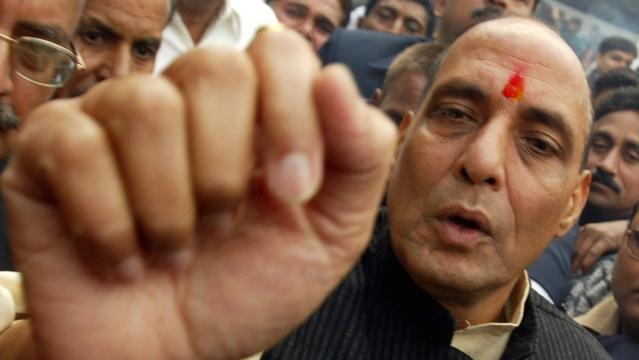 Union Home Minister Rajnath Singh (Photo: Reuters)