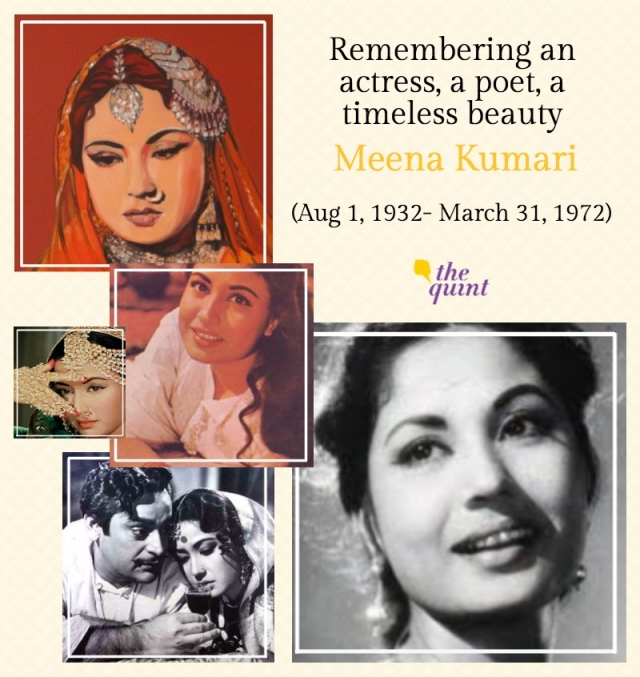 Meena Kumari played a huge variety of roles in around 90 films.