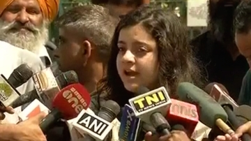 Shreya Singhal is one of the petitioners in the PIL against section 66A. (Photo: ANI)