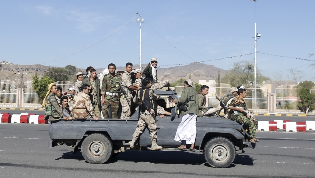 A file photo of Yemen's Houthi fighters. (Photo: Reuters)