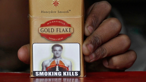 Union Health Minster JP Nadda had said that the government is committed to bigger pictorial warnings on tobacco packaging. (Photo: Reuters)