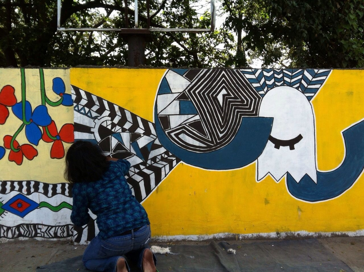 In Pictures: Painting Chennai Red – One Inch at a Time - The Quint