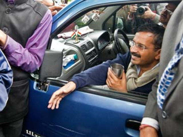 'AAP is kangaal': Arvind Kejriwal launches donation drive ...