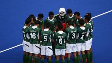 File image of the Pakistan hockey team.