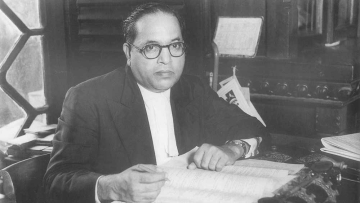 Dr BR Ambedkar in 1950. (Photo Courtesy: Wikimedia Commons)