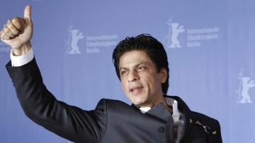 Shah Rukh Khan at an event.<i>(</i>Photo: Reuters)