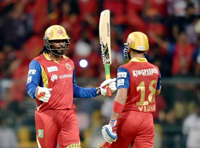 Royal Challengers Bangalore Chris Gayle (Photo: PTI)