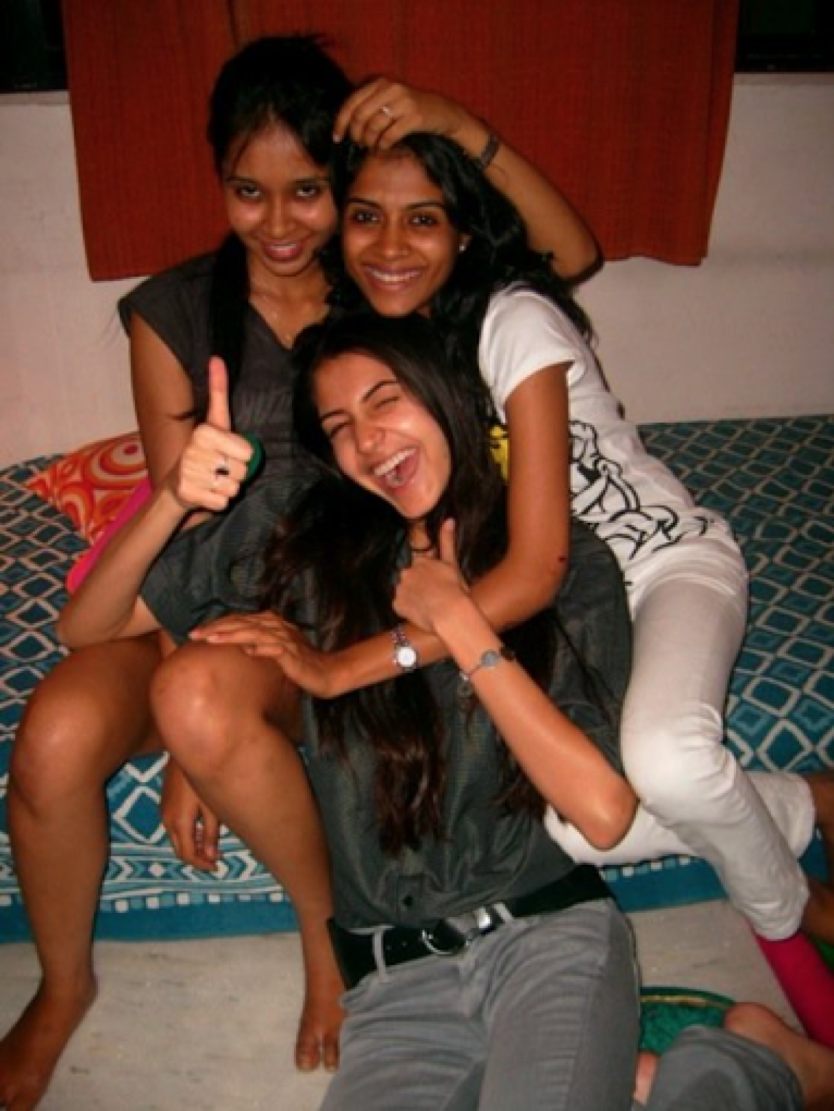 Anushka hanging out with friends